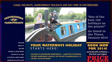oxfordshire narrowboats