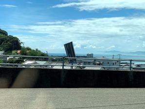 跳ね上がる橋、「手結港可動橋」(高知県香南市)