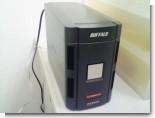 ギガビットLAN対応、ミラーリング対応ネットワークハードディスク