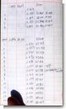 デジカメを使って野帳やメモをコピーがわりに撮影記録・保存