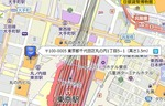 地図から住所検索