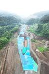 ダムサイト下流