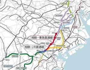 本日11/30に相鉄・JR直通ライン開通、相鉄が埼京線へ