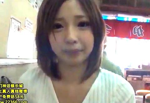 「恥ずかしいねんけど」関西弁の美形若妻とハメ撮りSEX