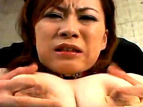 「この格好、恥ずかしい…」巨乳奥様を拘束して母乳搾取から調教SEX