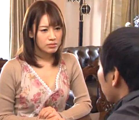 「ちょ…ちょっとやめて…」夫の教え子に不倫画像を餌に脅されて無理やりSEXされる美人妻!