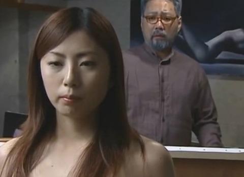 [ヘンリー塚本] ヌードモデル せがれの嫁のエロい乳房