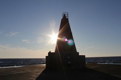 撮影:御蔵島港(2011.09.04-08)