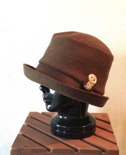帽子とふくろうさん^o^