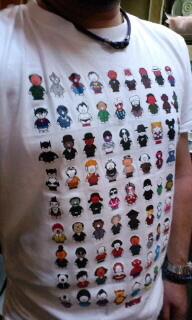 見てください〜(^w^)このTシャツ(^O^)