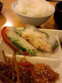 今日の母ちゃん惣菜は、ちょっとアジアン気分(^O^)