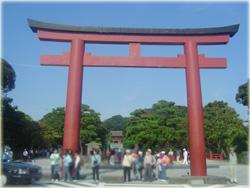 鶴岡八幡宮に到着です!