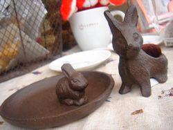 ウサギ雑貨♪