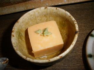 アン肝豆腐