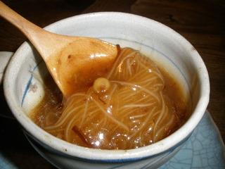 春雨XO醤スープ