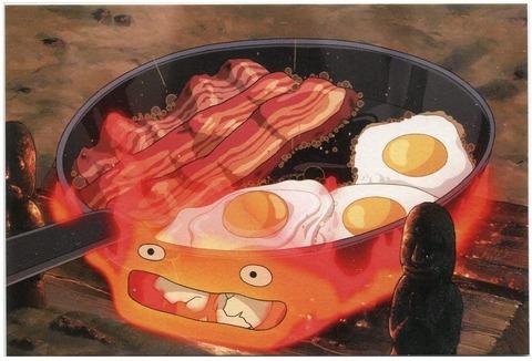 ハウル 卵焼き