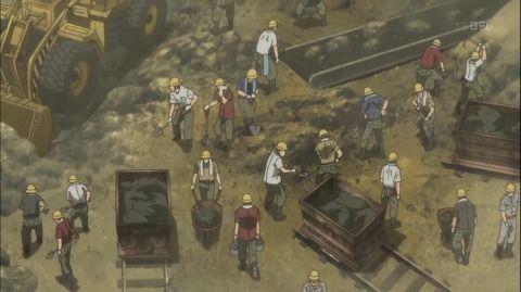 地下労働施設