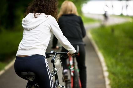 自転車 山道