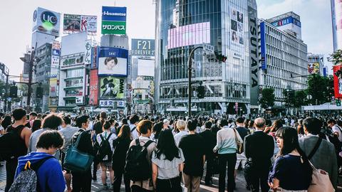 東京 人込み