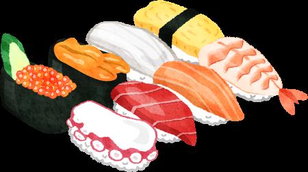 寿司 イラスト