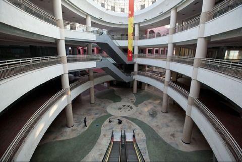 中国 ショッピングモール 廃墟