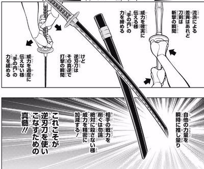 昔から疑問なんだけど、そもそも逆刃刀って逆側に刃を付ける意味ってあるの?