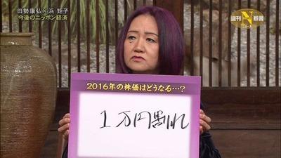 浜矩子「日本人は予測に従いやすい。自公連合の圧勝を予測したメディアの責任は大きい」