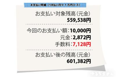 リボ払いって100万の買い物しても月数千円ですむとか最強すぎない?