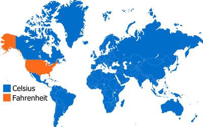 Countries+that+use+fahrenheit