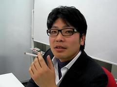富田さん休憩中