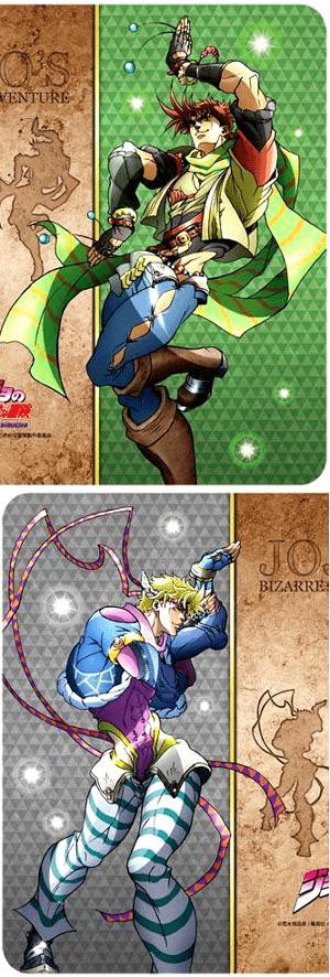 キャラクター万能ラバーマット ジョジョの奇妙な冒険 ジョセフ&シーザー