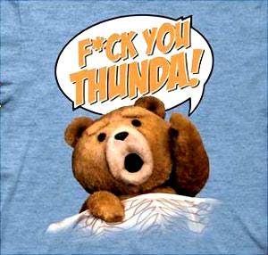 Ted - - メンズF * CKあなたThunda!ブルーのTシャツ, Medium, Blue