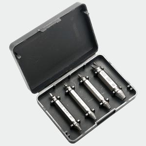 ネジ取り ネジ外しセット DIYに便利 ネジ ボルト 潰れたネジ取り なめたネジはずしビット (4本組)