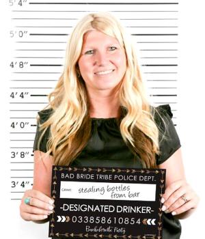 花嫁Tribe–ブライダルシャワー& Bachelorette Party Mug Shots–写真ブース小道具パーティーMug Shots–20カウント