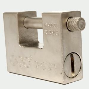 LEXPON 南京錠高セキュリティ鋼アトミックキーシャッターガレージドアロック94ミリメートル