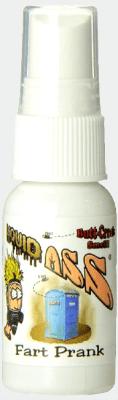 全米ベストセラーの臭いスプレー Liquid Ass 日本正規品 リキュッドアス Made in USA おならスプレー いたずらグッズ