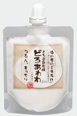 【新キャップ】どろあわわ(健康コーポレーション)どろ豆乳石鹸