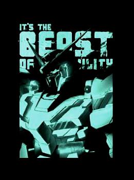機動戦士ガンダムUC(ユニコーン) 可能性の獣Tシャツ ブラック サイズ:M