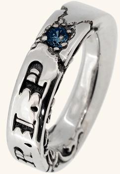 [エフエーエル]F.A.L 全4種 R.I.Pリング 3号~30号 (ロンドンブルートパーズ 23号) シルバー 925 アクセサリー 人気 メンズ ブランド 指輪