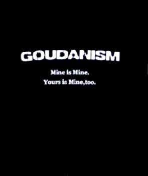GOUDANISM Tシャツ ブラック Sサイズ