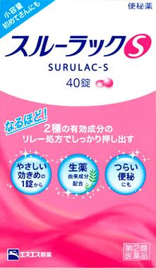 【指定第2類医薬品】スルーラックS 240錠