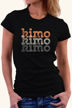 Kimo repeat retro 女性の Tシャツ