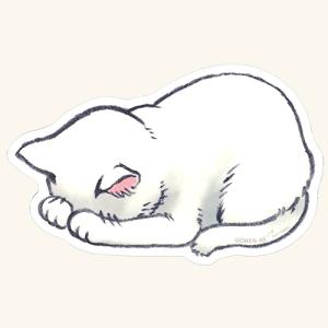 ARTEMIS(アーティミス) ごめん寝マウスパッド 白猫 [GN-MOP]