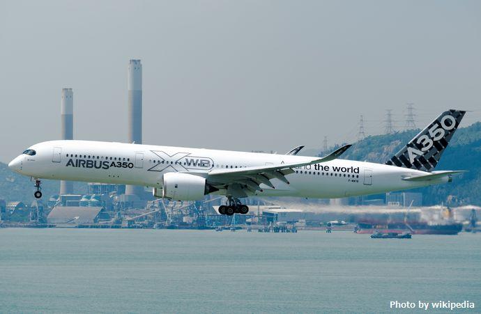 Airbus_Industrie_Airbus_A350-900_F-WWYB_(30618782305)