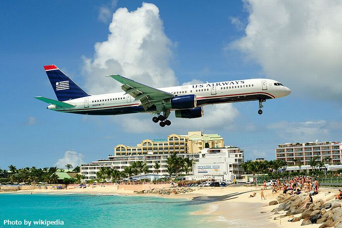 800px-Princess_juliana_international_airport_approach