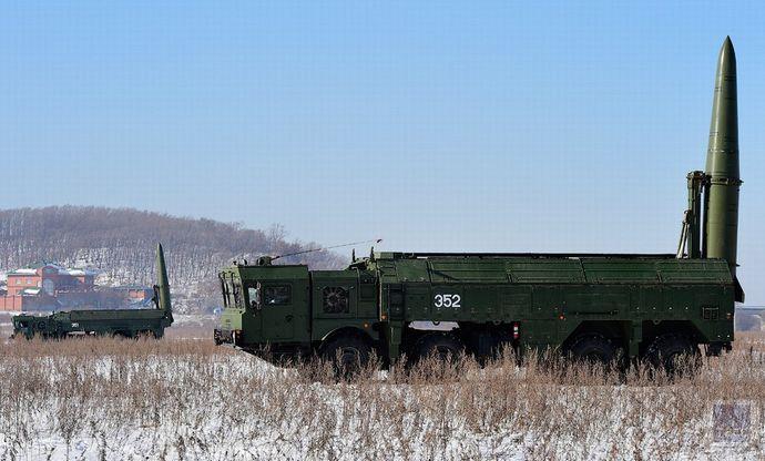 ロシア軍ミサイル部隊が戦域弾道...