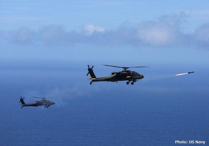 韓国軍のアパッチ攻撃ヘリ射撃レーダーに欠陥が多発、北朝鮮艇を波と識別!