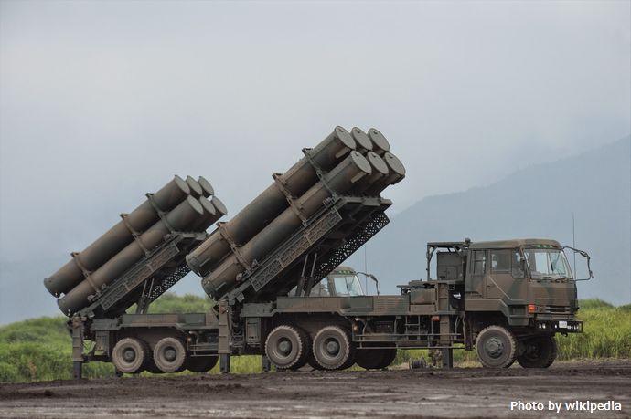 88式地対艦誘導弾(富士総合火力演習)
