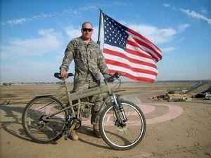 アメリカ軍折り畳みマウンテンバイク