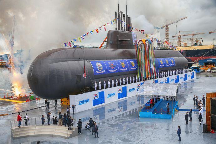 韓国造船大手の大宇造船海洋、3千トン級潜水艦「張保皐3 batchⅡ」事業を約1010億円で受注!